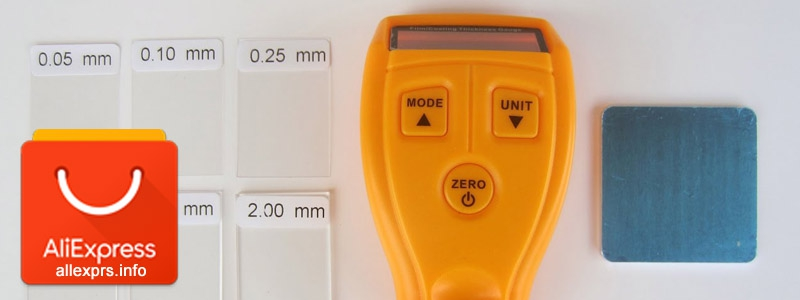 Лакокрасочный цифровой толщиномер с Алиэкспресс