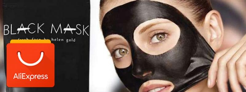 """Обзор """"чёрной маски для лица"""" по удалению угрей с Алиэкспресс"""