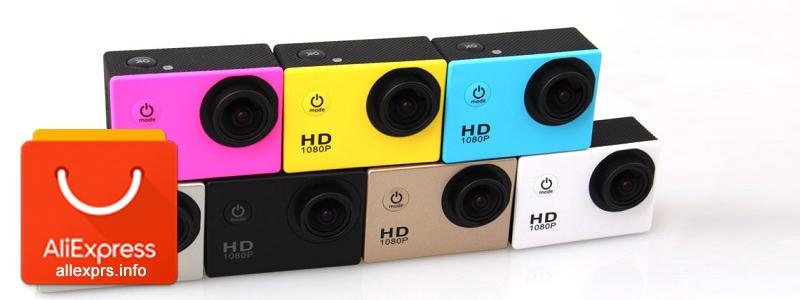 Аналог экшн камеры GoPro. SJ4000 и Xiaomi с Алиэкспресс